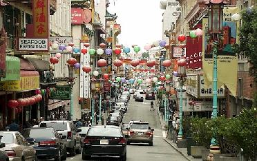 Yep, it's Chinatown