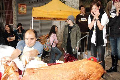 Yumiko and pork