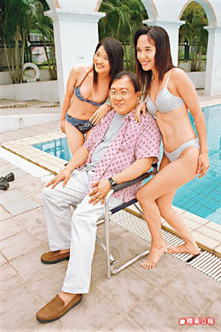 Wong Jing loves his ladies