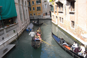 Required photo of Venice canal