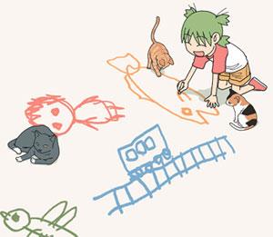 Yotsuba and Cats