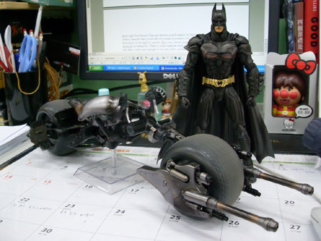 Batman and Batpod