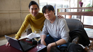 Nick Cheung and some guy
