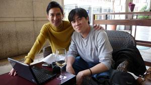 Nick Cheung and some guy