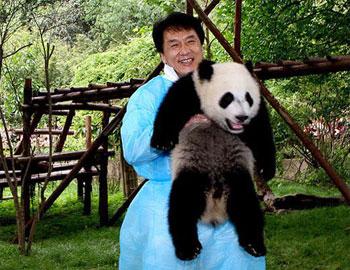 Jackie and Panda