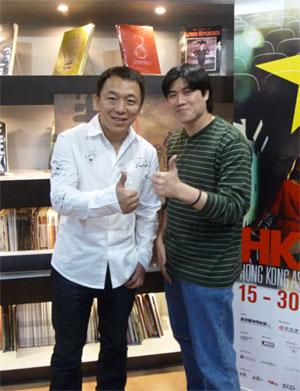 Huang Bo and me