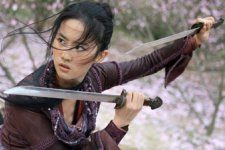 Crystal Liu in THE FORBIDDEN KINGDOM