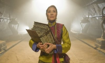 Michelle Yeoh in THE MUMMY: TOMB OF THE DRAGON EMPEROR