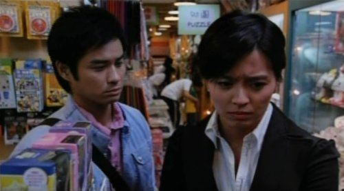 Kevin Cheng Ka-Wing (left) and Gigi Leung Wing-Kei (right