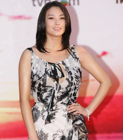 Kitty Zhang on the red carpet.