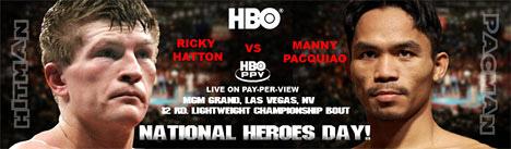 Pacquiao vs. Hatton Promo Pic