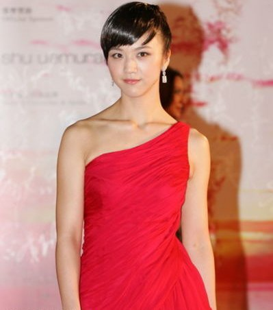 Tang Wei on the red carpet.
