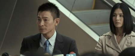 Andy Lau (left) and Charlie Yeung (right) in COLD WAR.