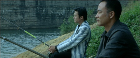 Fishing with Simon Yam