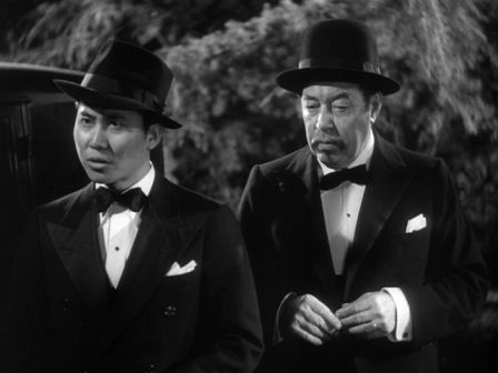 Keye Luke and Warner Oland