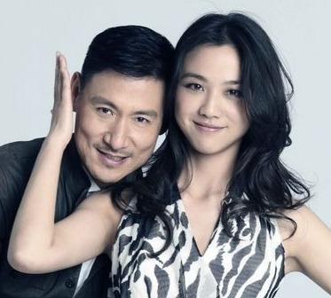 Tang Wei and Jacky