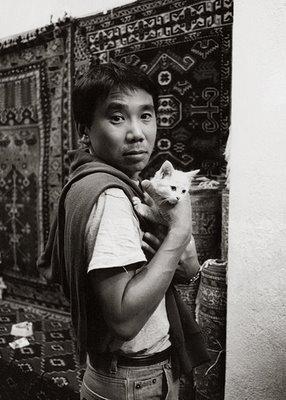Murakami and Cat