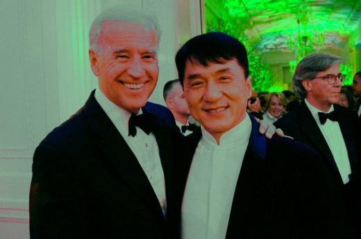 Jackie and Biden