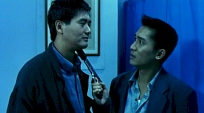 Chow Yun-fat and Tony Leung